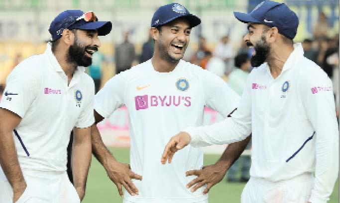 Team India beat Bangladesh by innings and 130 runs Sach Kahoon