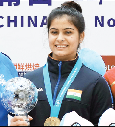 Manu Bhaker won gold in World Cup final Sach Kahoon