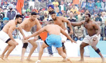 Kabaddi tournament in Punjab from December 1