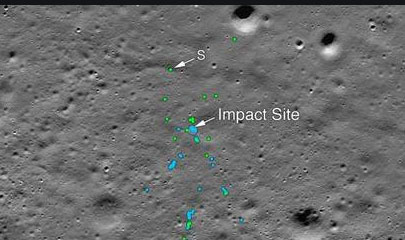 After all, the debris of Chandrayaan-2 Vikram Lander