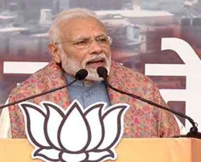 BJP government gives home rights to 40 lakh poor people of Delhi: Modi