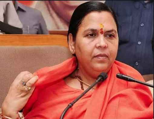 Fire brand leader Uma Bharti