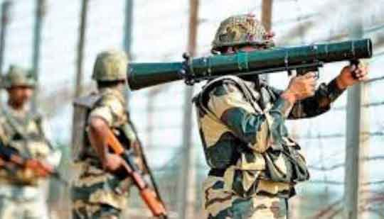 Indian Army gives a befitting reply to Pak ceasefire violation