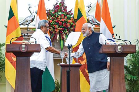 Sri Lanka India
