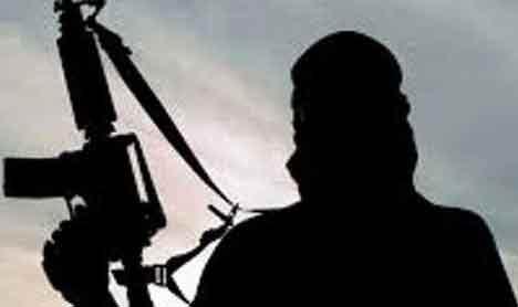 Terrorists in Kashmir