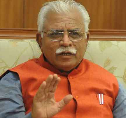 CM Khattar's own district is second in corruption - Sach Kahoon news