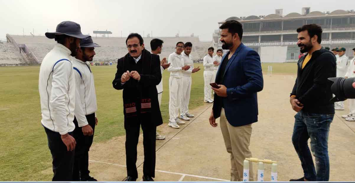 under 14 cricket tournament starts