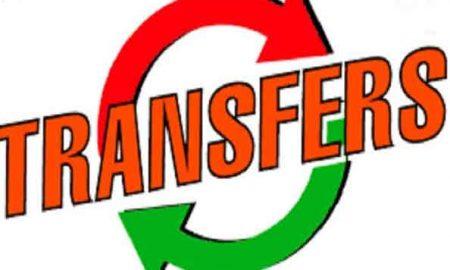 23 IAS transferred