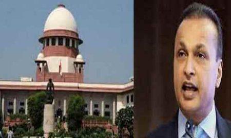Central government returns Rs 104 crore to Anil Ambani Supreme Court