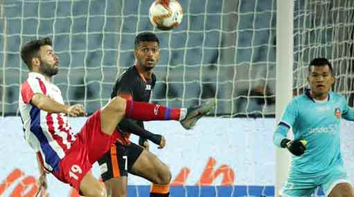 ATK reached the top after beating Goa 2-0 - Sach Kahoon