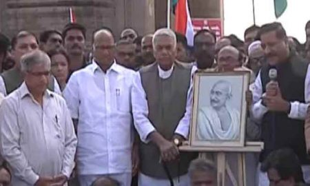 Gandhi peace yatra