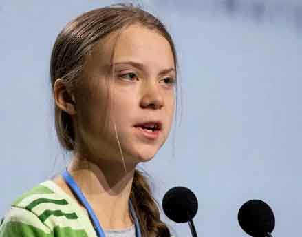 Greta Thunberg criticizes Federer Sach Kahoon