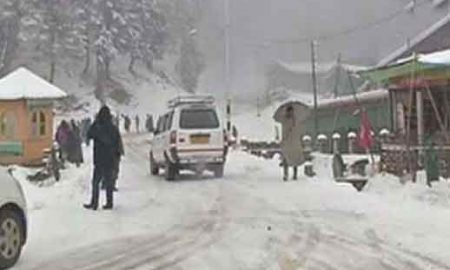 Himachal has been experiencing snow for the last three days.