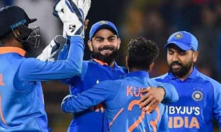 Indian team blast on Republic Day, beat New Zealand by 7 wickets