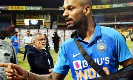 Shikhar Dhawan out of T20 tour against New Zealand - Sach Kahoon