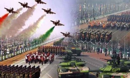 The world saw the country's military power on Rajpath