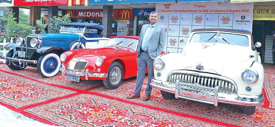 vintage car,