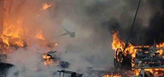 Blast In Mill in pakistan