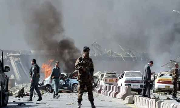 Blast in Kabul,