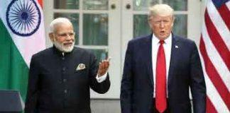 Donald Trump's India tour