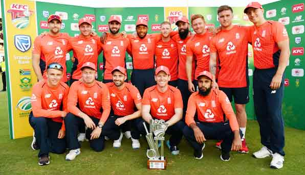 England won the T 20 series by defeating South Africa - Sach Kahoon