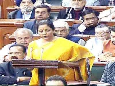 Nirmala Sitharaman Budget
