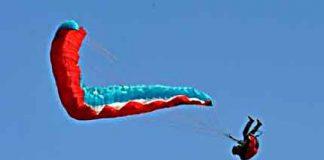 Paraglider Crash