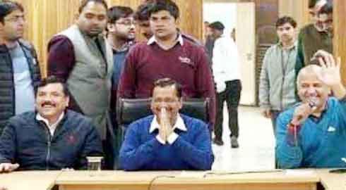 Kejriwal's swearing in ceremony tomorrow - Sach Kahoon