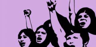 Anganwadi Union Protest
