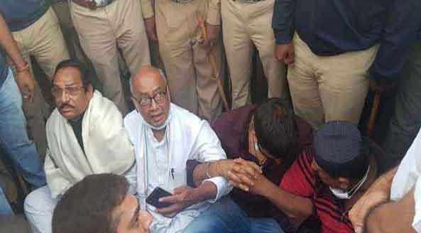 Digvijaya Singh Arrested