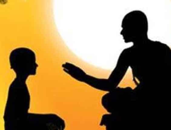Guru and disciple