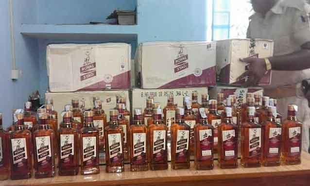 Liquor worth 50 lakhs INR Recovered - sach kahoon news
