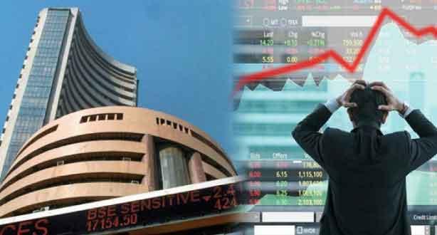 Stock market fall down