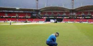 match canceled due to rain