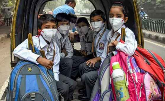schools closed in Delhi