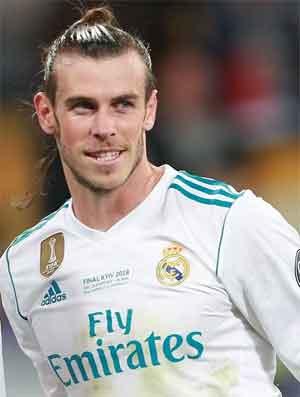 Footballer Gareth Bell