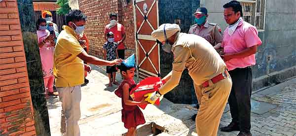 Punjab Police visit home and gives birthday gift to Little angel