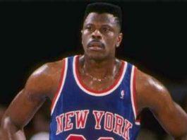 Basketball legend Ewing
