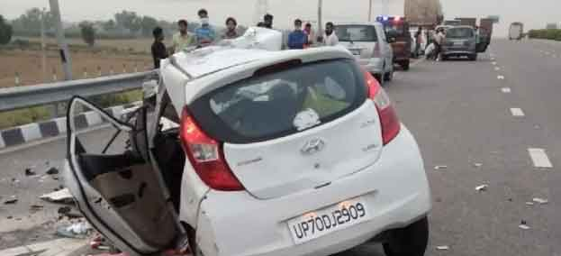 Accident in Firozabad