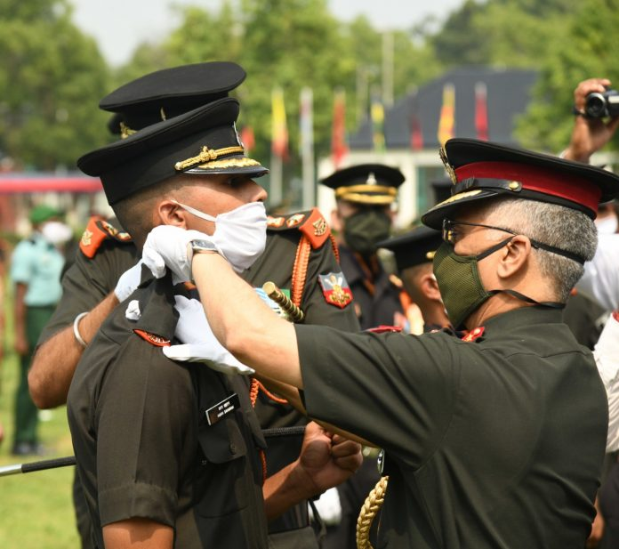 Sub Inspectors son lieutenant in the army