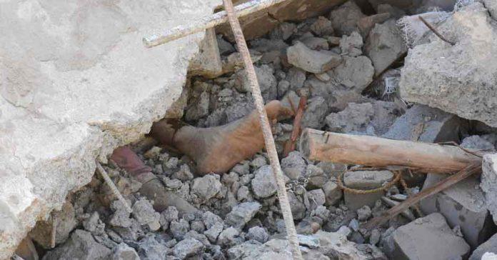 Building Collapse in Karachi