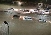 Rain in Yemen
