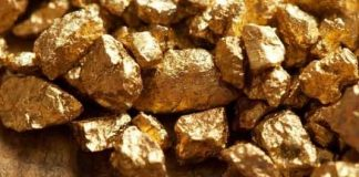 About 80% of the Earths gold is still buried in the ground