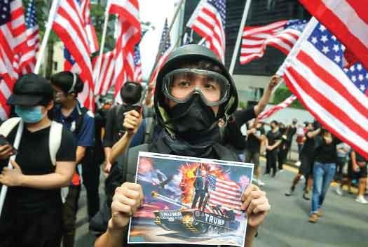 American trap in Hong Kong dispute