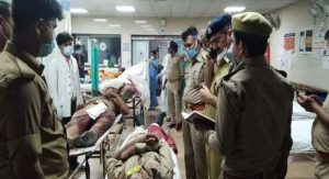 Attack On Police In Kanpur