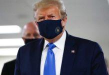 Donald Trump Wearing Mask