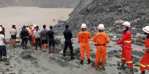 Landslide in Jade Mine