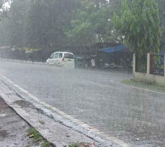 Rains in Ludhiana