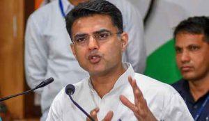 Sachin Pilot Expelled