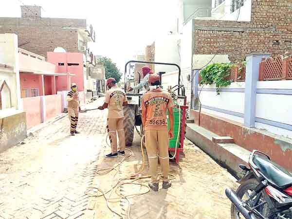 Shah Satnam Ji Green S Welfare Force Wing